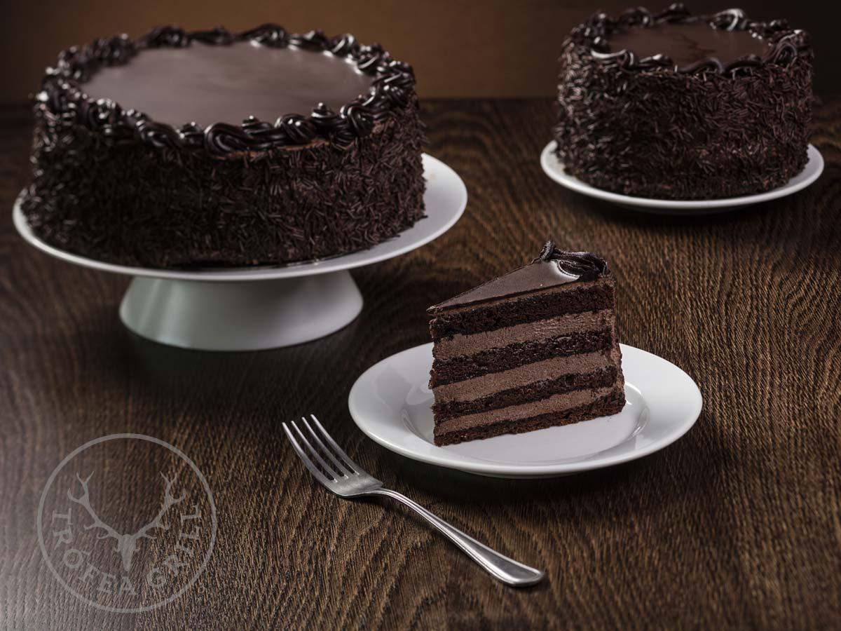Csokoládé torta - 8 szeletes